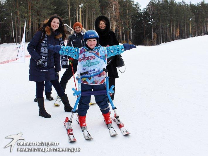«Лыжи мечты» заскользили по склонам Уктусских гор
