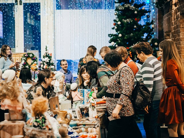 «Теплая» ярмарка новогодних подарков