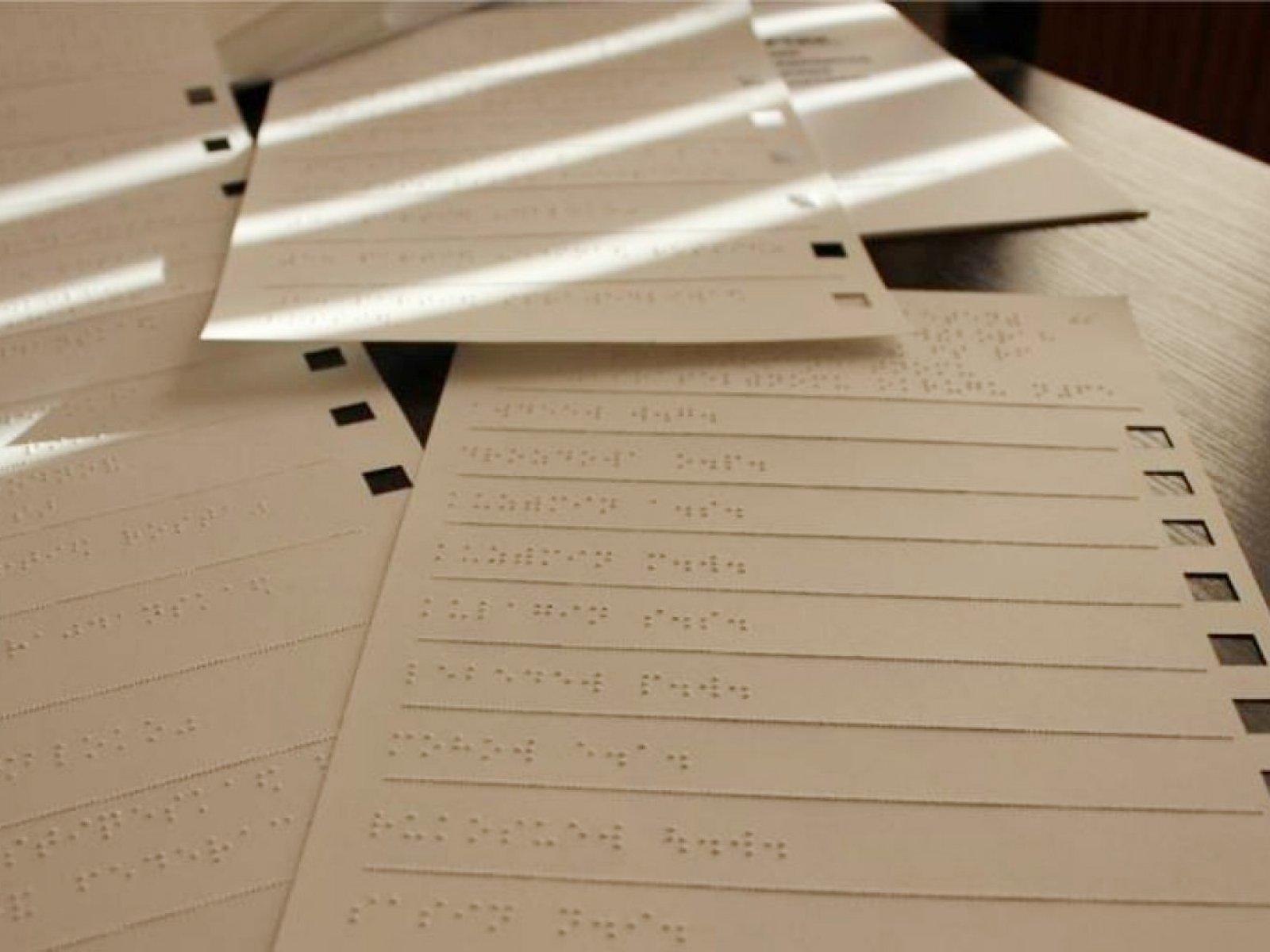 Выборы губернатора: в Свердловской области приступили к изготовлению бюллетеней азбукой Брайля