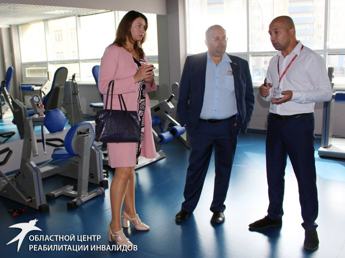 Центр посетили представители Агентства стратегических инициатив