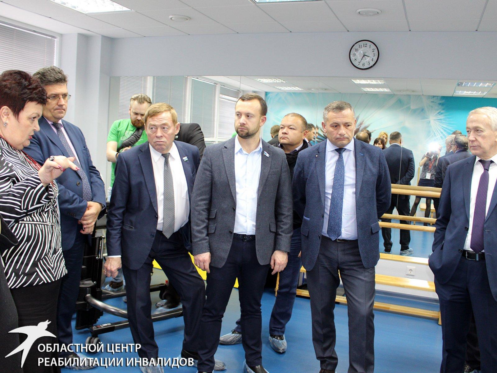 Депутаты Заксобрания посетили Областной центр реабилитации инвалидов