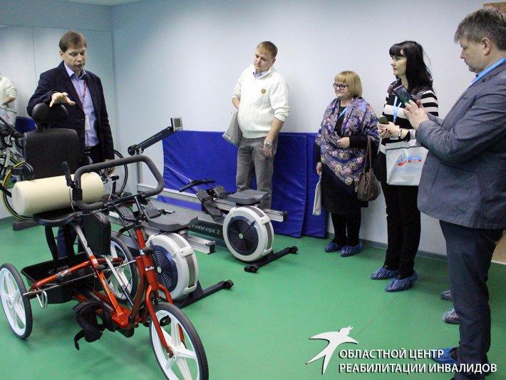 Для участников Форума «Будущее» организовали экскурсию по Областному центру реабилитации инвалидов