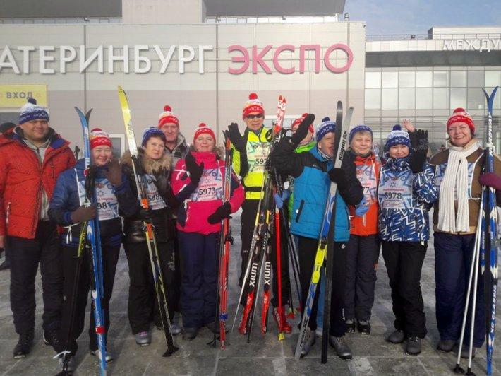 Команда Областного центра реабилитации инвалидов встала на лыжи вместе со всей Россией