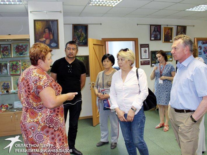 Со Свердловским центром реабилитации познакомились коллеги из Кыргызстана