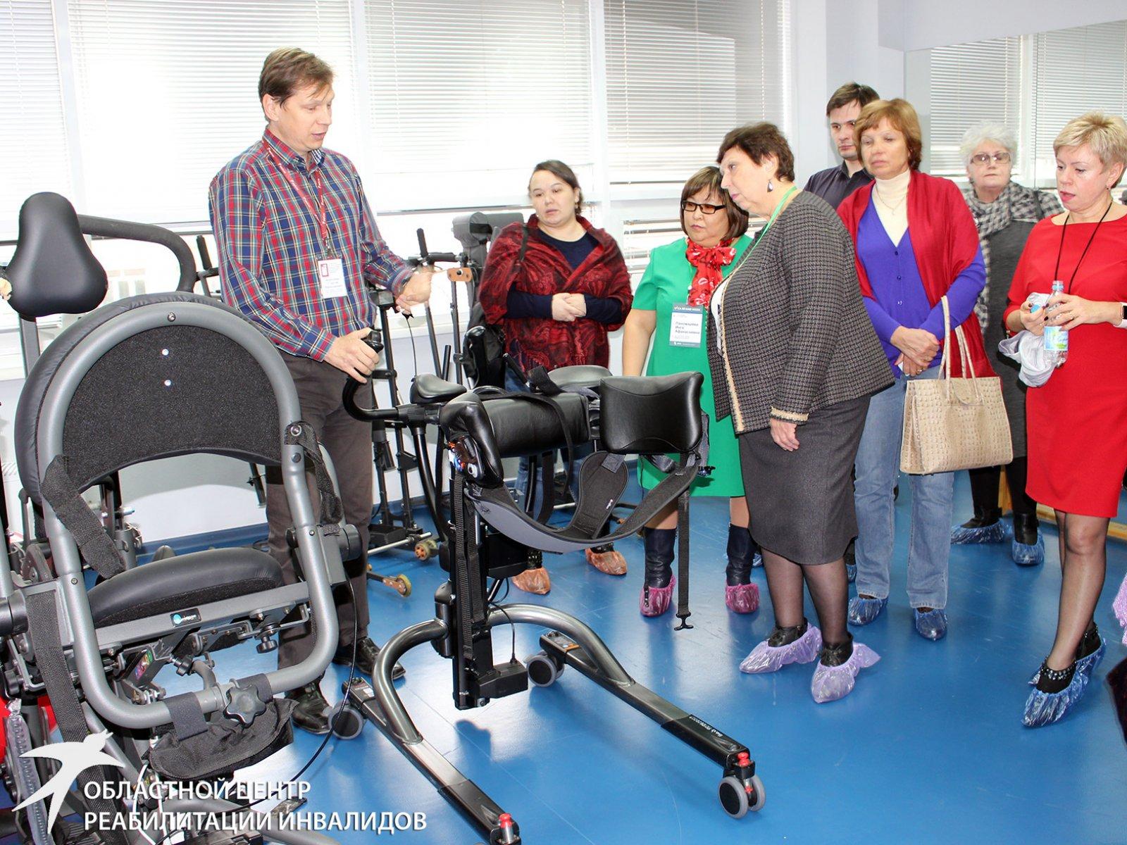 Тридцать главврачей и ведущих специалистов медучреждений страны посетили Свердловский областной центр реабилитации инвалидов