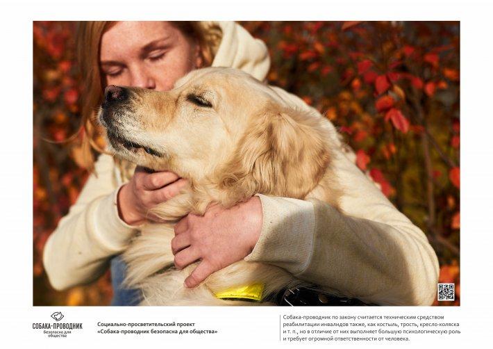 В Екатеринбурге открывается первая фотовыставка собак-поводырей