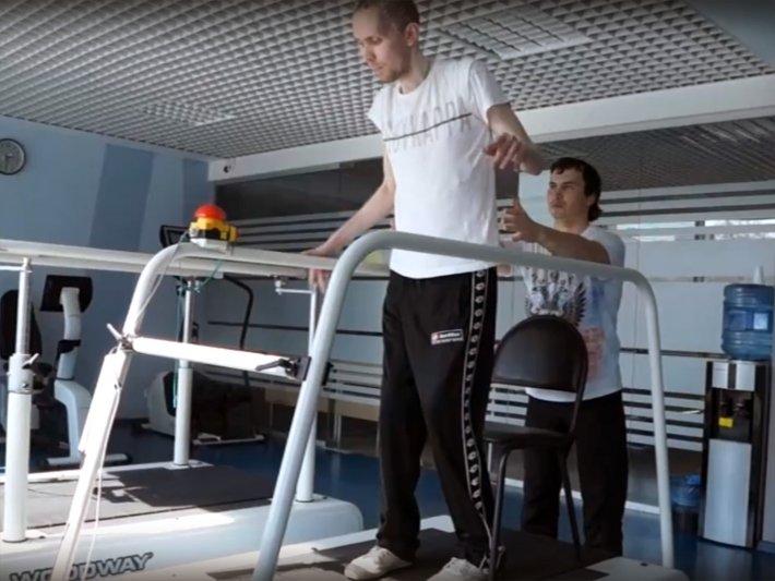 Видео-отзыв клиента Областного центра реабилитации инвалидов Александра Коломийца
