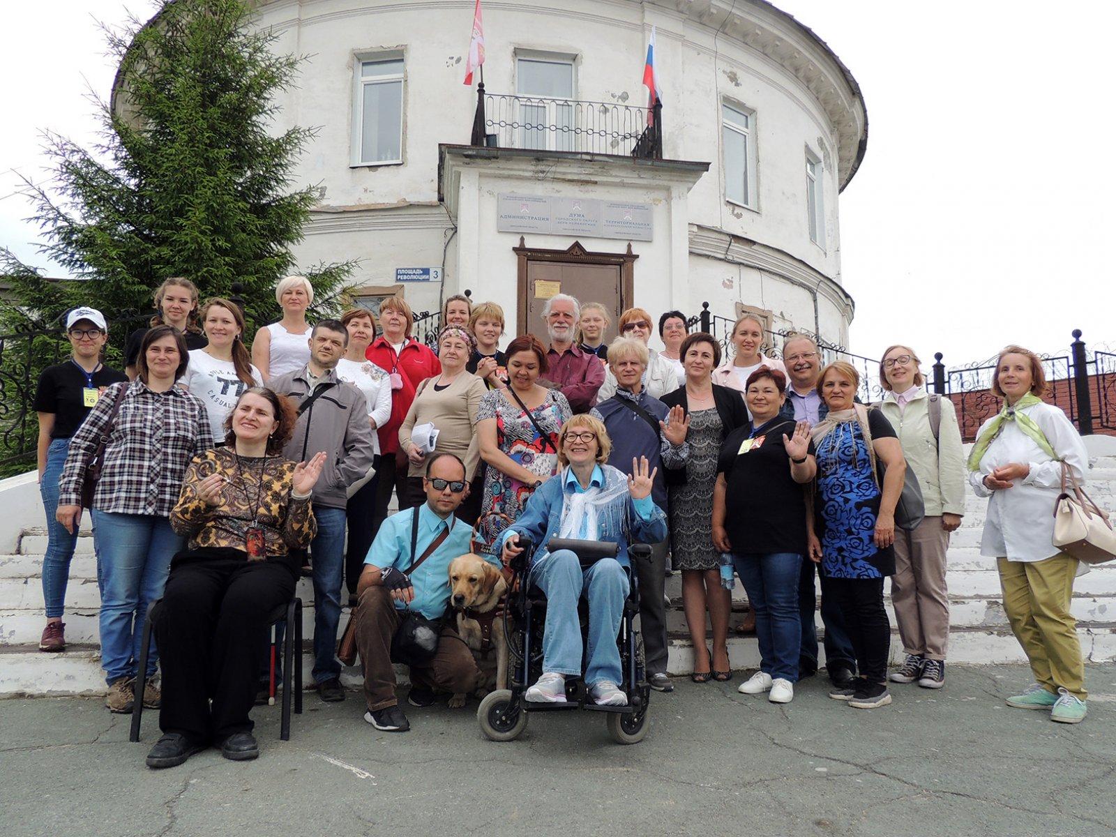 В Верх-Нейвинском апробирован экскурсионный тур, адаптированный для людей с ОВЗ