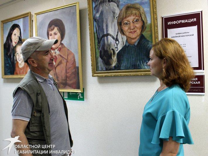 Приглашаем на выставку картин Артура Гареева