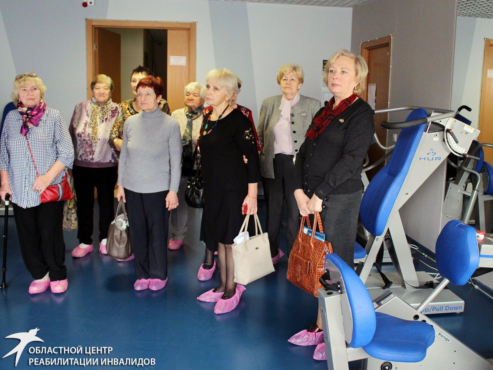 Члены региональных Советов ветеранов поближе познакомились со Свердловским областным центром реабилитации инвалидов