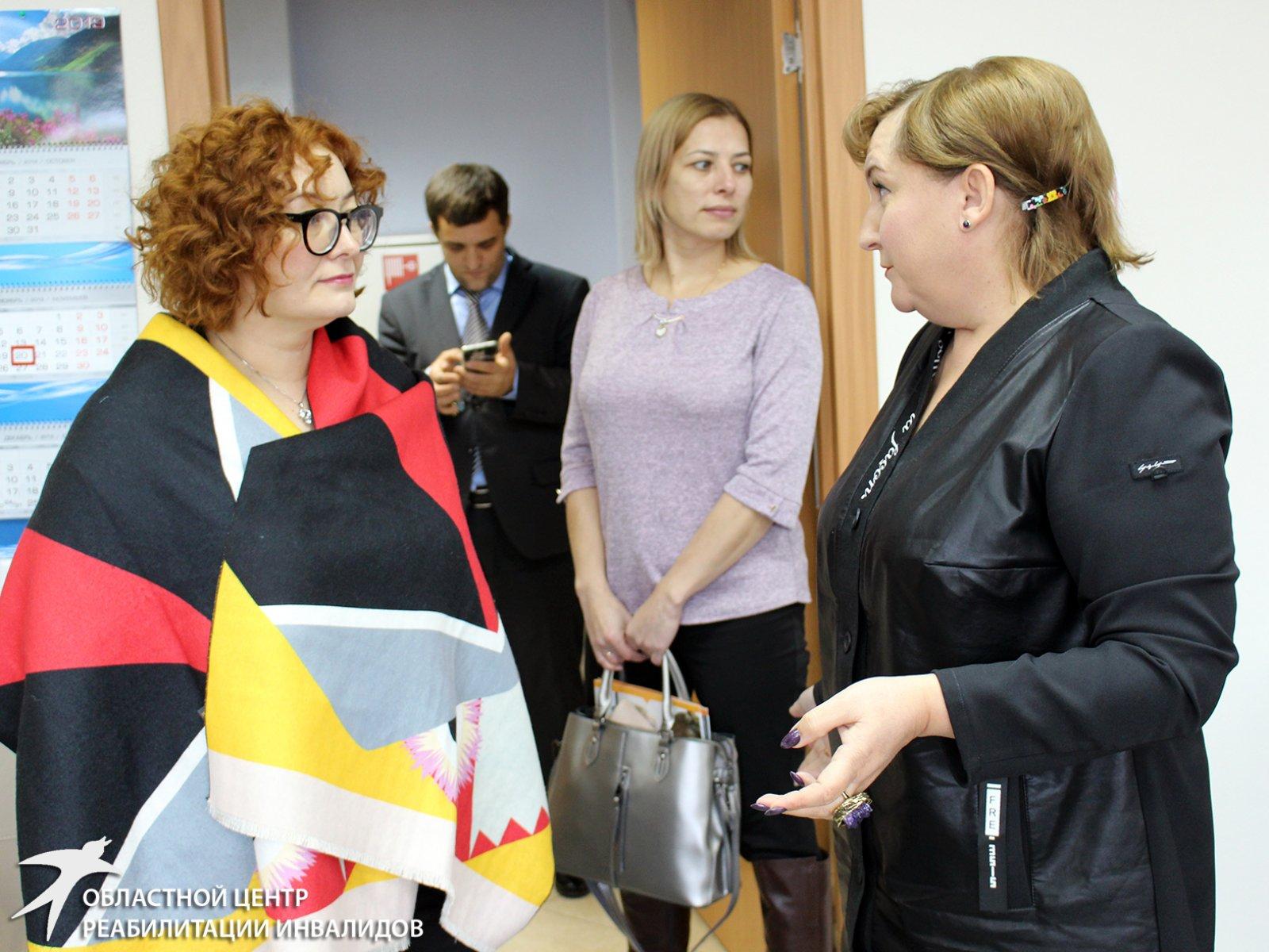 Обмен опытом по организации доступной среды с коллегами из Сахалинской области