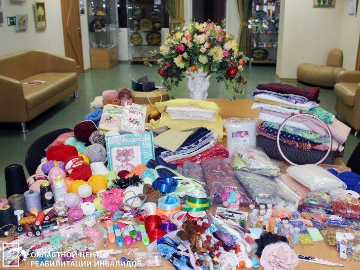 Благодарим школьников за подарки для клиентов Областного центра реабилитации инвалидов